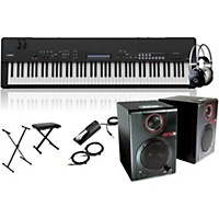 Yamaha Cp40 Stage 88-Key Stage Piano With Rpm3 Monitors, Stand, Headphones, Bench, And Sustain Pedal