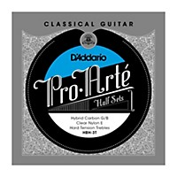 D'addario Hbh-3T Pro-Arte Hard Tension Classical Guitar Strings Half Set