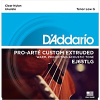 D'addario Ej65tlgpro-Arte Custom Extruded Tenor Low G Nylon Ukulele Strings