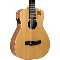 Martin X Series Ed Sheeran X Signature Edition Little Martin Acoustic-Electric Guitar Natural