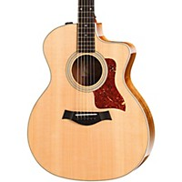 Taylor 214Ce Deluxe Koa Cutaway Grand Auditorium Acoustic-Electric Guitar Natural