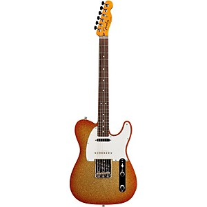 Fender Custom Shop Nashville American Telecaster Electric Guitar Sunburst Sparkle Rosewood
