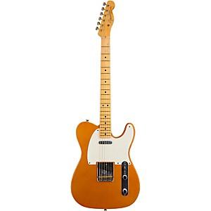 Fender Custom Shop 1950'S Journeyman Telecaster Electric Guitar Faded Candy Tangerine Maple