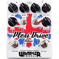 Wampler Plexi-Drive Deluxe British Overdrive Guitar Effects Pedal