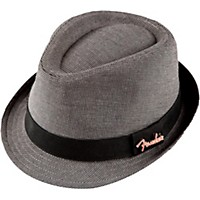 Fender Fedora With Pin Black/Gray Check S/M