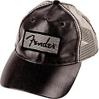Fender Clear Coat Trucker Hat, One Size Black