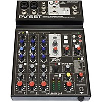 Peavey Pv 6 Bt Mixer With Bluetooth
