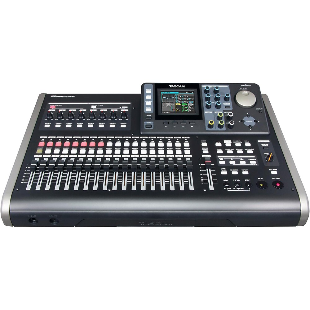 24-Track Digital Portastudio - Tascam DP-24SD