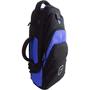 Fusion Premium Trumpet Bag Black And Blue