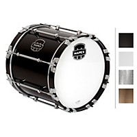 Mapex Quantum Bass Drum 16 X 14 In. Grey Steel/Gloss Chrome Hardware