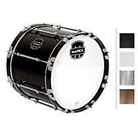 Mapex Quantum Bass Drum 18 X 14 In. Gloss Black/Gloss Chrome Hardware
