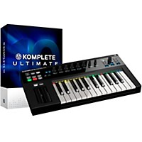 Native Instruments Komplete 10 Ultimate Update And Kontrol S25 Keyboard Bundle