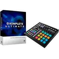 Native Instruments Komplete 10 Ultimate Crossgrade And Maschine Mk2Black