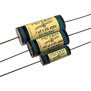 Fender Pure Vintage Blue Amplifier Capacitors .1 600V Mtw