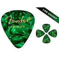 Fender 351 Premium Heavy Guitar Picks 144 Count Green Moto