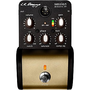 Lr Baggs Session Di Acoustic Guitar Direct Box And Preamp