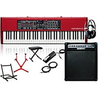 Nord Electro 5 Hp With Keyboard Amplifier, Matching Stand, Headphones, Bench, And Sustain Pedal