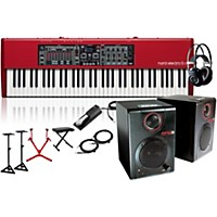 Nord Electro 5 Hp With Matching Stand, Rpm3 Monitors, Headphones, Bench, And Sustain Pedal