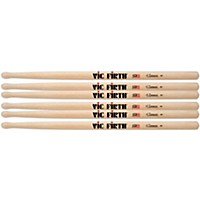 Vic Firth Corpsmaster Marching Drum Stick 3-Pack Ms3