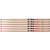 Vic Firth Corpsmaster Marching Drum Stick 3-Pack Sjq Jeff Queen Solo