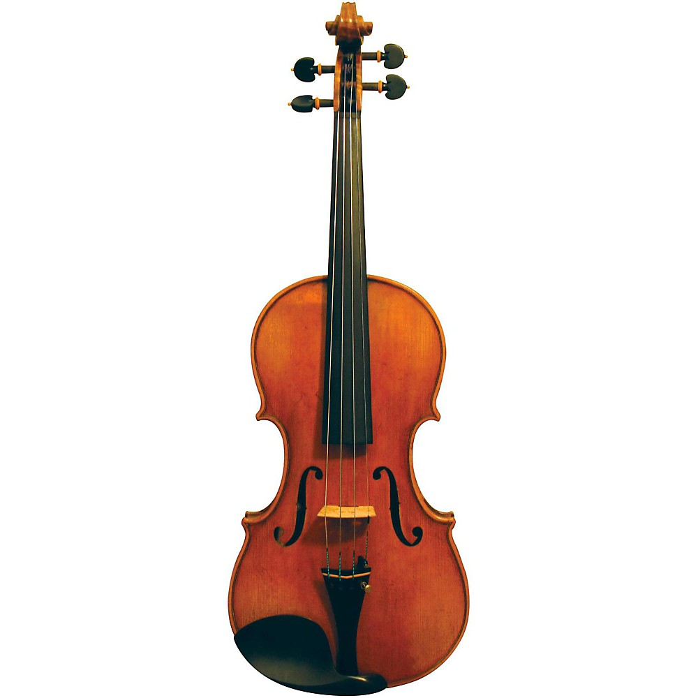 Maple Leaf Strings Burled Maple Craftsman Collection Violin 4/4 Size 1430146856544