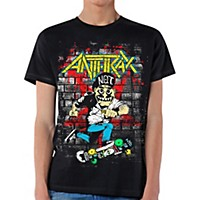 Anthrax Skater Guy T-Shirt Medium