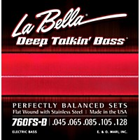 Labella 760Fs-B Deep Talkin' Bass Flat Wound  ...