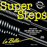 Labella Ss45-B Super Steps Standard 5-String Electric Bass Strings
