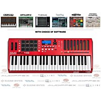 Akai Professional Max49 Keyboard Controller With Free Software With Free Trackplug Aax Special Signal Processing Software