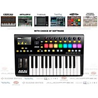 Akai Professional Advance 25 Midi Keyboard Controller With Free Software With Free Trackplug Aax Special Signal Processing Software