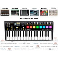 Akai Professional Advance 49 Midi Keyboard Controller With Free Software With Free Trackplug Aax Special Signal Processing Software