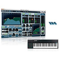 Alesis Vi49 49-Key Keyboard Controller With Free Software With Free Trackplug Aax Special Signal Processing Software