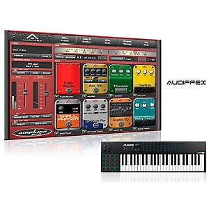Alesis Vi49 49-Key Keyboard Controller With Free Software Wiith Free Amplion Pro Special Guitar Gear Simulation Sftwr