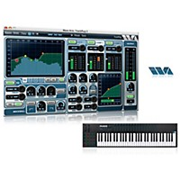 Alesis Vi61 61-Key Keyboard Controller With Free Software With Free Trackplug Aax Special Signal Processing Software