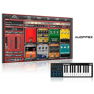 Alesis V25 25 Key Keyboard Controller With Free Software Wiith Free Amplion Pro Special Guitar Gear Simulation Sftwr