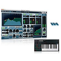 Alesis Vi25 25 Key Keyboard Controller With Free Software With Free Trackplug Aax Special Signal Processing Software