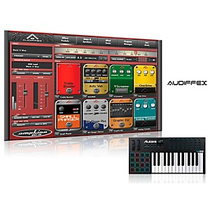 Alesis Vi25 25 Key Keyboard Controller With Free Software Wiith Free Amplion Pro Special Guitar Gear Simulation Sftwr