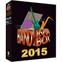 Pg Music Band-In-A-Box Pro 2015 (Windows Dvd-Rom)