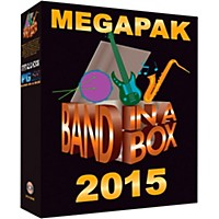Pg Music Band-In-A-Box 2015 Megapak (Windows Dvd-Rom)