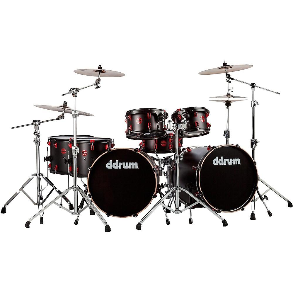 5. DDrum Hybrid Acoustic-Electric 7 Piece Double Bass Drum Set