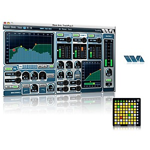 Novation Launchpad Mini Controller With Free Software With Free Trackplug Aax Special Signal Processing Software