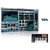 M-Audio Oxygen 25 Mkiv With Free Software With Free Trackplug Aax Special Signal Processing Software
