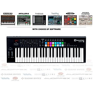 Novation Launchkey 49 Keyboard Controller With Free Software With Free Artillery Ii Software