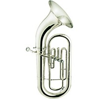 Jupiter Jep710 Series Bell Front 3-Valve Euphonium Jep710s Silver