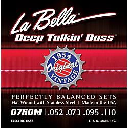 Labella 0760M Deep Talkin' Bass 1954 Original Flat Wound Electric Bass Strings