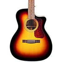 Guild Westerly Collection Om-140Ce Acoustic-Electric Guitar Sunburst