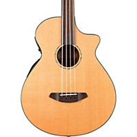 Breedlove Solo Bass Fretless Acoustic-Electric Bass Guitar Natural