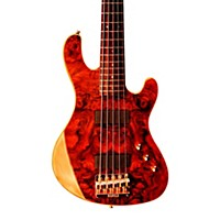 Cort Jeff Berlin Series Rithimic V Bass Guitar Gloss Natural Rosewood