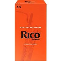 Rico Baritone Saxophone Reeds, Box Of 25  ...