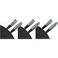 Gear One Xlr Microphone Cable 3-Pack